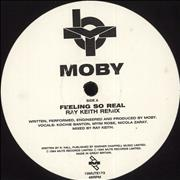Click here for more info about 'Moby - Feeling So Real'