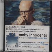 Click here for more info about 'Moby - Innocents Sampler'