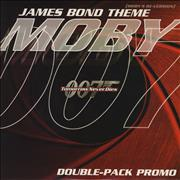 Click here for more info about 'Moby - James Bond Theme - Double Pack'