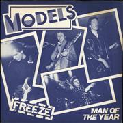 Click here for more info about 'Models (Punk) - Freeze / Man Of The Year - 'The Models' label'