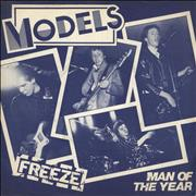 Click here for more info about 'Models (Punk) - Freeze - 'Models' label'