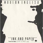 Click here for more info about 'Modern English - Ink And Paper'