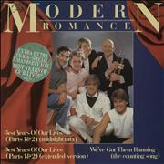 Click here for more info about 'Modern Romance - Best Years Of Our Lives (Parts 1 & 2) - 4 tracks + Gold Stamped Sleeve'