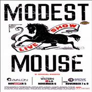 Click here for more info about 'Modest Mouse - November 2006 Los Angeles Tour Poster'