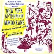 Click here for more info about 'Mondo Kané - New York Afternoon - P/S'