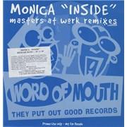 "Monica Inside (Masters At Work Remixes) UK 12"" vinyl Promo"