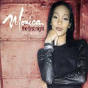 Monica The First Night - The Remixes UK CD single