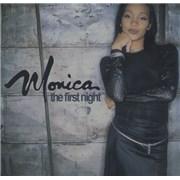 Monica The First Night USA CD single