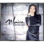 Monica The First Night UK CD single