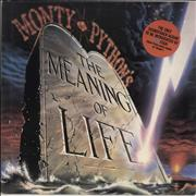 Click here for more info about 'Monty Python - The Meaning Of Life - Gold Promo Stamped'