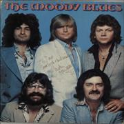 Click here for more info about 'Moody Blues - 1978 Tour - Autographed'