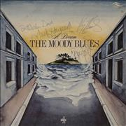 Click here for more info about 'Moody Blues - A Dream - Autographed'