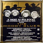 Click here for more info about 'Moody Blues - A Night At Red Rocks - Pair of Posters + Stage Notice'