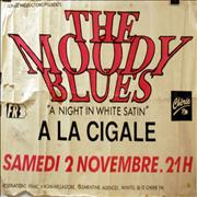 Click here for more info about 'Moody Blues - A Night In White Satin - A La Cigale - Signed'