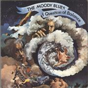 Moody Blues A Question Of Balance - 1st UK vinyl LP