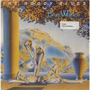 "Moody Blues Blue World UK 7"" vinyl"