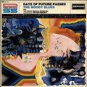 Click here for more info about 'Moody Blues - Days Of Future Passed - 3rd - EX'