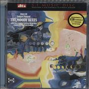 Moody Blues Days Of Future Passed USA DVD-Audio disc