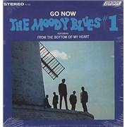 Moody Blues Go Now - Sealed USA vinyl LP