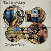 Moody Blues Greatest Hits UK vinyl LP