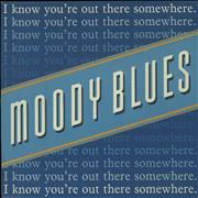 Click here for more info about 'Moody Blues - I Know You're Out There Somewhere - Paper labels'