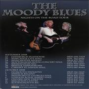 Click here for more info about 'Moody Blues - Nights On The Road Tour'