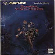 Moody Blues On The Threshold Of A Dream - Half-Speed Mastered USA vinyl LP