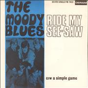 Click here for more info about 'Moody Blues - Ride My See-Saw'