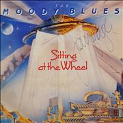 Click here for more info about 'Moody Blues - Sitting At The Wheel - Autographed'