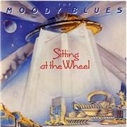 "Moody Blues Sitting At The Wheel UK 7"" vinyl"