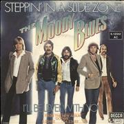 Click here for more info about 'Moody Blues - Steppin' In A Slide Zone'