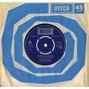 "Moody Blues Steppin' In A Slide Zone UK 7"" vinyl"