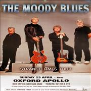 Click here for more info about 'Moody Blues - Strange Times Tour + Stage Time Sheet - Set of SIX'