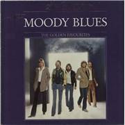 Moody Blues The Golden Favourites Netherlands vinyl LP
