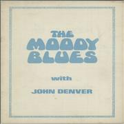 Moody Blues The Moody Blues With John Denver + Ticket Stub UK tour programme