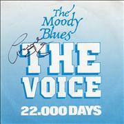 Click here for more info about 'Moody Blues - The Voice - Autographed'