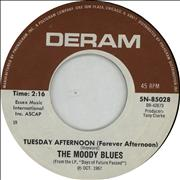 Click here for more info about 'Moody Blues - Tuesday Afternoon (Forever Afternoon)'