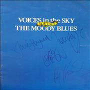 Click here for more info about 'Moody Blues - Voices In The Sky '84 Tour - Autographed'