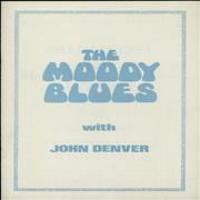 Click here for more info about 'Moody Blues - The Moody Blues With John Denver'