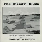 Click here for more info about 'Moody Blues - Tour Of Great Britain + Ticket Stub'