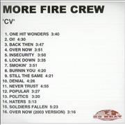 Click here for more info about 'More Fire Crew - CV'
