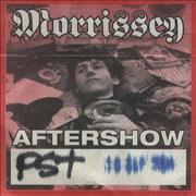 Click here for more info about 'Morrissey - 2004 Aftershow Pass'