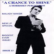 Click here for more info about 'Morrissey - A Chance To Shine Issue 13'