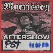 Click here for more info about 'Morrissey - Aftershow Silkscreen Pass'