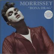 Click here for more info about 'Morrissey - Bona Drag - Stickered Sleeve - VG+/EX-'