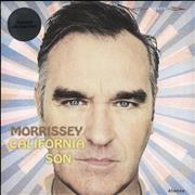 Click here for more info about 'Morrissey - California Son - Sky Blue Vinyl - Sealed'