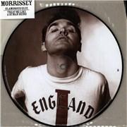 "Morrissey Glamorous Glue UK 7"" picture disc"