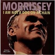 Morrissey I Am Not A Dog On A Chain - Clear Vinyl - Sealed UK vinyl LP