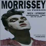 Click here for more info about 'Morrissey - In Person - Utrecht'