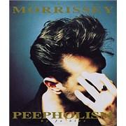 Morrissey Into The Art Of Morrissey - Peepholism - Hardback UK book
